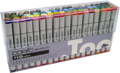 Set A - Copic Sketch Markers 72pc Set