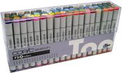Set A - Copic Sketch Markers 72pc Set