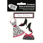 Fashion Items - Black & Pink - Express Yourself MIP 3D Stickers