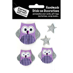 Lilac Owls - Express Yourself MIP 3D Stickers