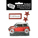 Red Mini - Express Yourself MIP 3D Stickers