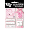 Baby Girl Captions - Express Yourself MIP 3D Stickers