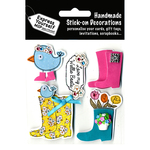 Welly Boots - Express Yourself MIP 3D Stickers
