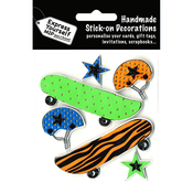 Skateboards - Express Yourself MIP 3D Stickers