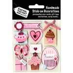 With Love Tea & Cakes - Express Yourself MIP 3D Stickers