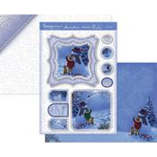 Let It Snow! - Hunkydory Snowy Scenes A4 Topper Set