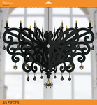 Chandelier - Jolee's Halloween Decor Kit 45pcs