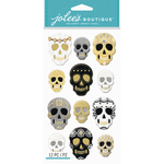 Gilded Skulls - Jolee's Boutique Dimensional Stickers