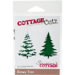 """Snowy Tree, 2.2""""X3.1"""" - CottageCutz Die"""