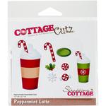 """Peppermint Latte, 1.5""""X3.1"""" - CottageCutz Die"""