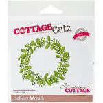 """Holiday Wreath, 3.1""""X3.1"""" - CottageCutz Elites Die"""