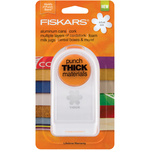 Floral Frenzy - Fiskars Thick Material Punch 1""