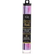 "Amethyst Watercolor - Deco Foil Specialty Transfer Sheets 6""X12"" 5/Pkg"