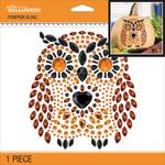 Owl - Pumpkin Bling 1/Pkg