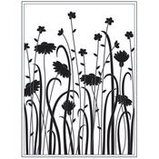 """Dainty Wildflowers - Embossing Folder 4.25""""X5.75"""""""