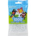 White Glitter - Perler Pearl Beads 1,000/Pkg