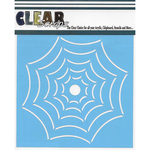 "Widow Web - Clear Scraps Stencils 12""X12"""