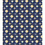 "Blue Stars - Craft Consortium Decoupage Papers 13.75""X15.75"" 3/Pkg"