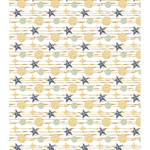 "White Stars - Craft Consortium Decoupage Papers 13.75""X15.75"" 3/Pkg"
