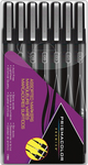 Black - Prismacolor Premier Assorted Markers 7/Pkg