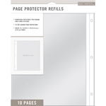"K&Company Page Protector Refills 8.5""X11"" 10/Pkg"