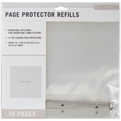 "K&Company Page Protector Refills 8""X8"" 10/Pkg"
