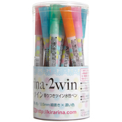 Assorted - Kirarina 2win Water-Based Markers 18/Pkg