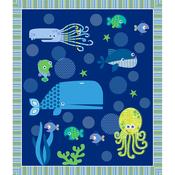 Deep Sea Fusible Applique Quilt Kit
