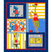 Digger-Saurus Fusible Applique Quilt Kit
