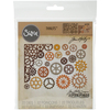 Gearhead - Sizzix Thinlits Dies 22/Pkg By Tim Holtz