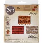 """Village Rooftops - Sizzix Bigz Die By Tim Holtz 5.5""""X6"""""""