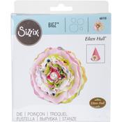 """Romance Flower - Sizzix Bigz Die 5.5""""X6"""""""