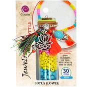 Lotus Flower - Jewelry Kit In A Bottle