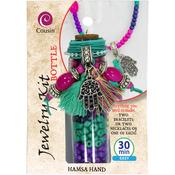 Hamsa Hand - Jewelry Kit In A Bottle