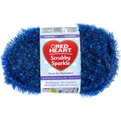Blueberry - Red Heart Scrubby Sparkle Yarn
