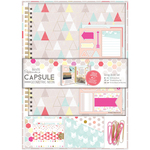 Papermania Geometric Neon Sprial Scrapbook Kit