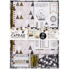 Papermania Geometric Mono Spiral Scrapbook Kit