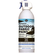 Black - Outdoor Spray Fabric Paint 13.3oz