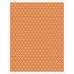 Trellis Texture Fades A2 Embossing Folder - Tim Holtz