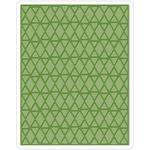 Lattice Texture Fades A2 Embossing Folder - Tim Holtz