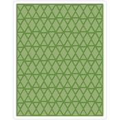 Lattice Texture Fades A2 Embossing Folder - Tim Holtz