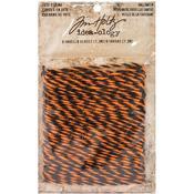Orange & Black Idea-Ology Jute String 8yd - Tim Holtz