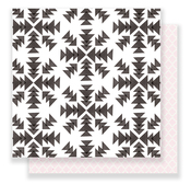 Snowflakes Paper - Snow & Cocoa - Crate Paper