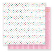 Rosy Cheeks Paper - Snow & Cocoa - Crate Paper