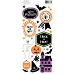 Halloween Accents & Phrases Stickers - American Crafts