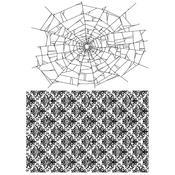Webs & Damask Tim Holtz Cling Stamps