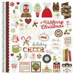 Classic Christmas Fundamental Sticker Sheet - Simple Stories