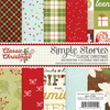 Classic Christmas 6 x 6 Paper Pad - Simple Stories