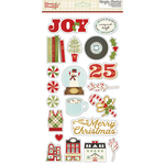 Classic Christmas Chipboard Stickers - Simple Stories