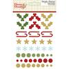 Classic Christmas Enamel Dots & Shapes - Simple Stories